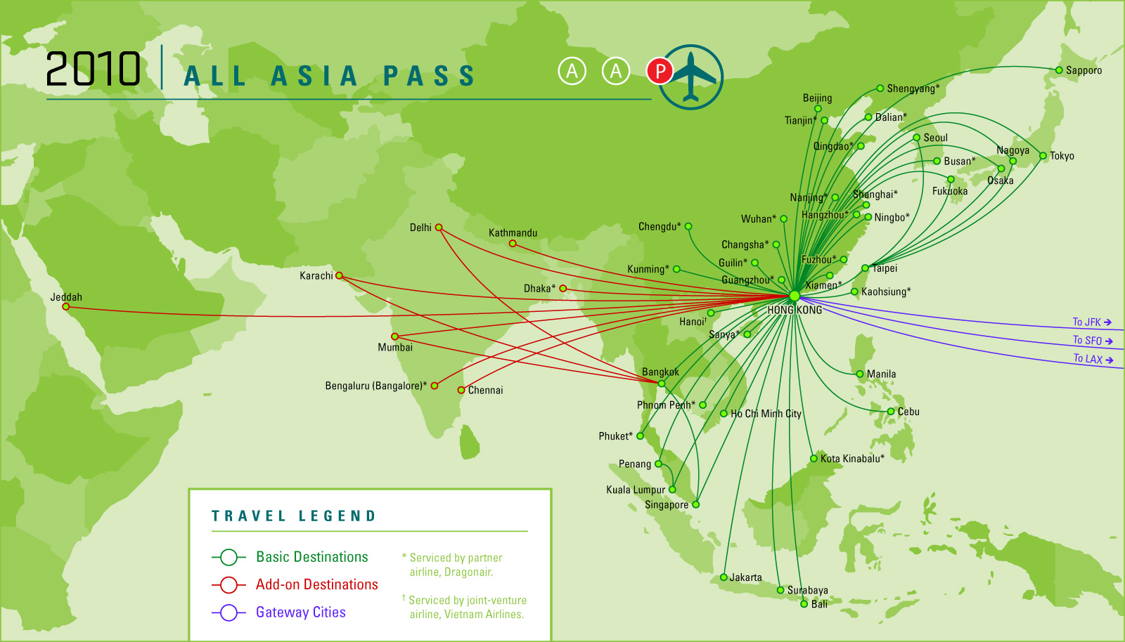Asia Pass Country