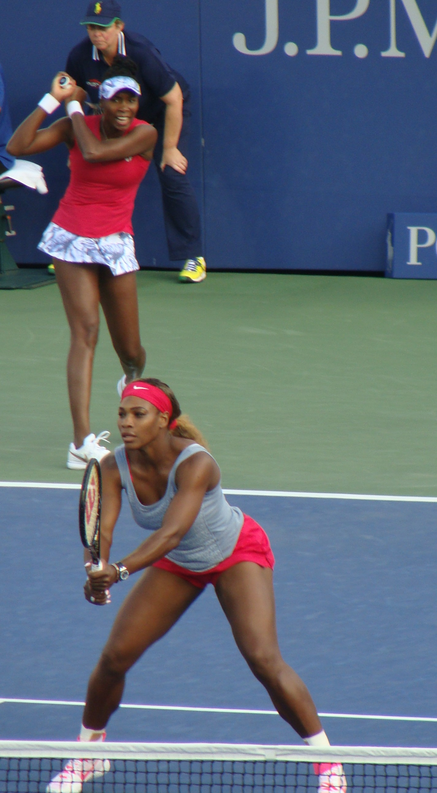 Williams Sisters on Armstrong