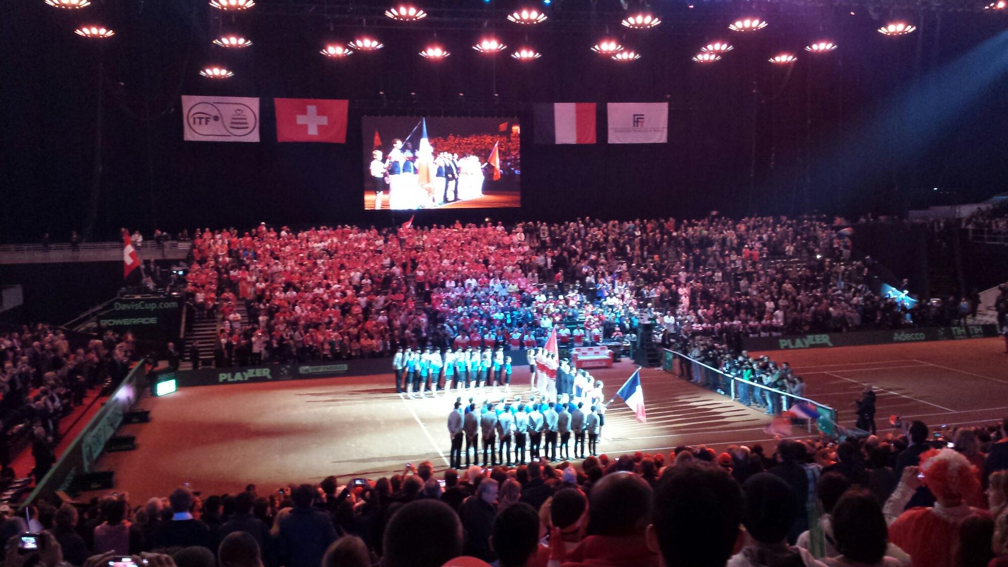 Davis Cup Finalist Flags