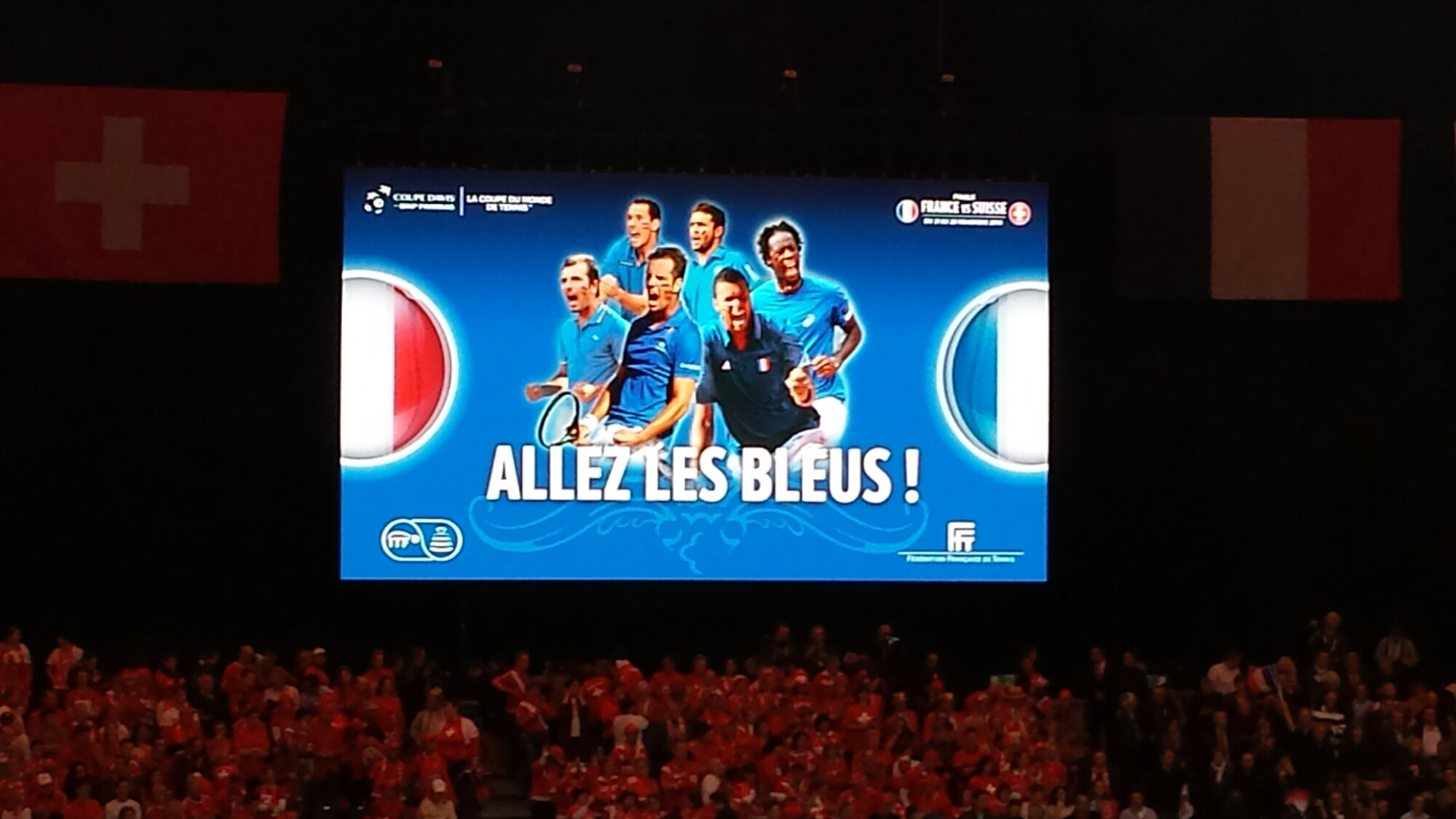 Allez Les Bleus Logo