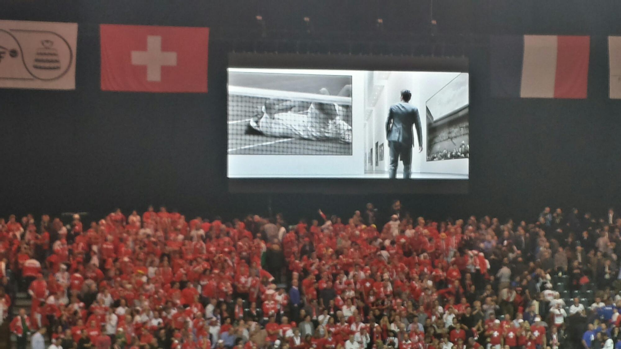 Federer Rolex Ad