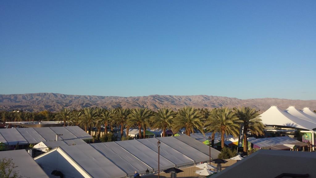 Tennis in the Desert