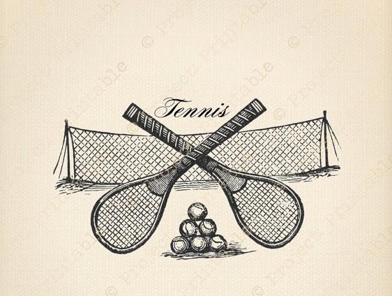 Vintage RacquetNetBalls