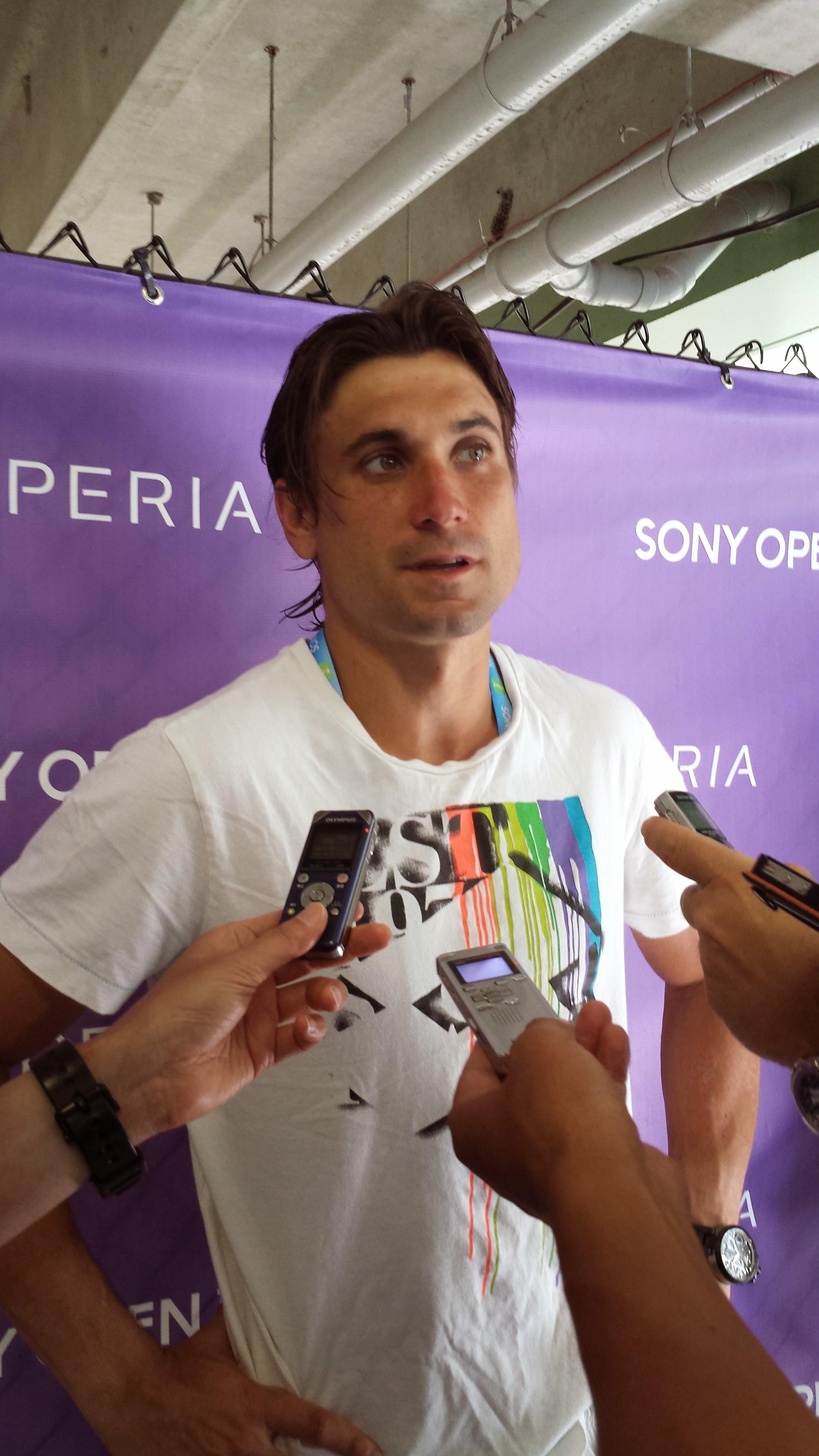 Ferrer at Sony Open '14