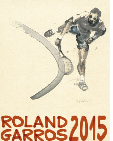 French Open 2015 Official Poster