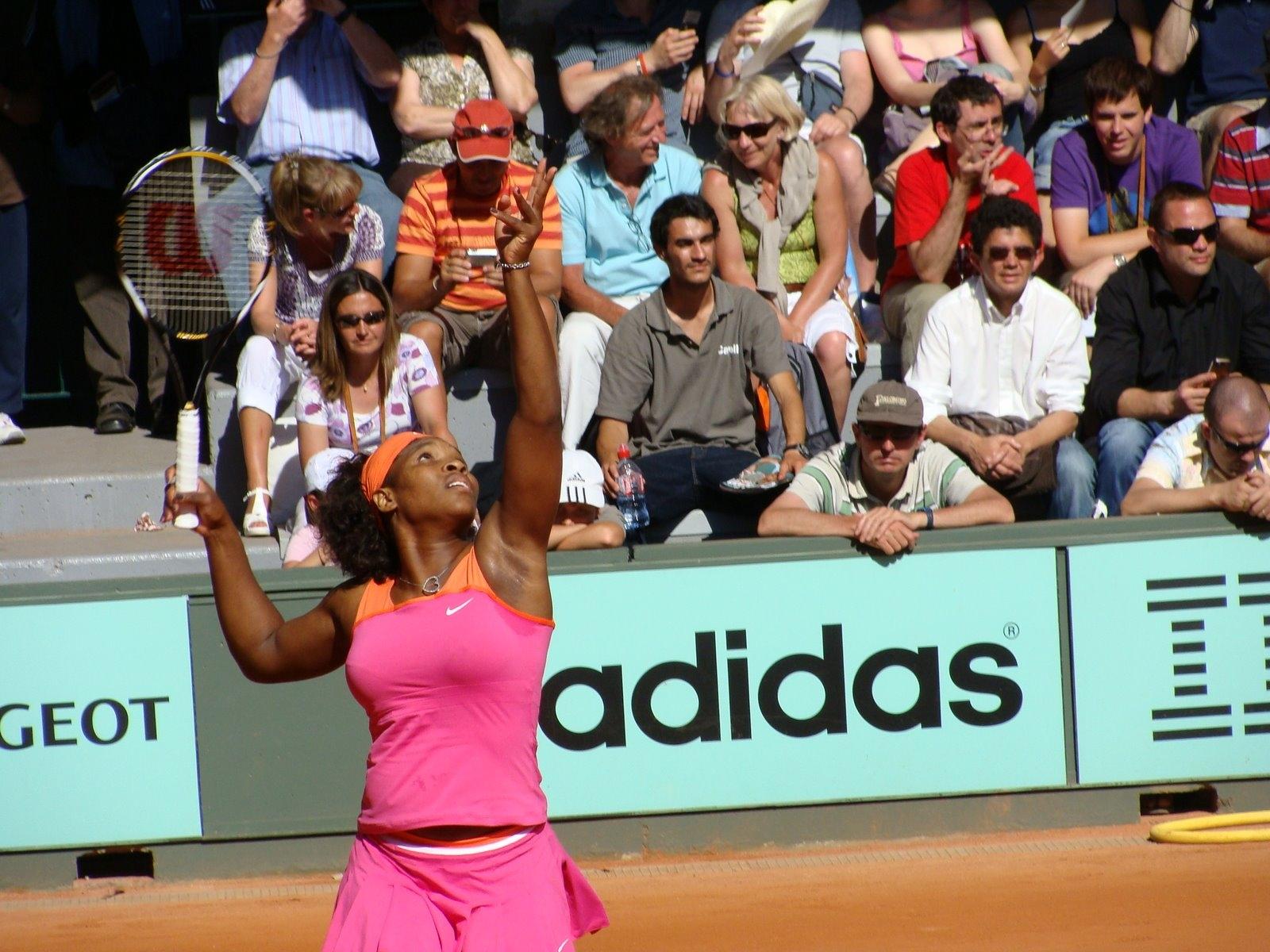 13_Serena at RG 2009