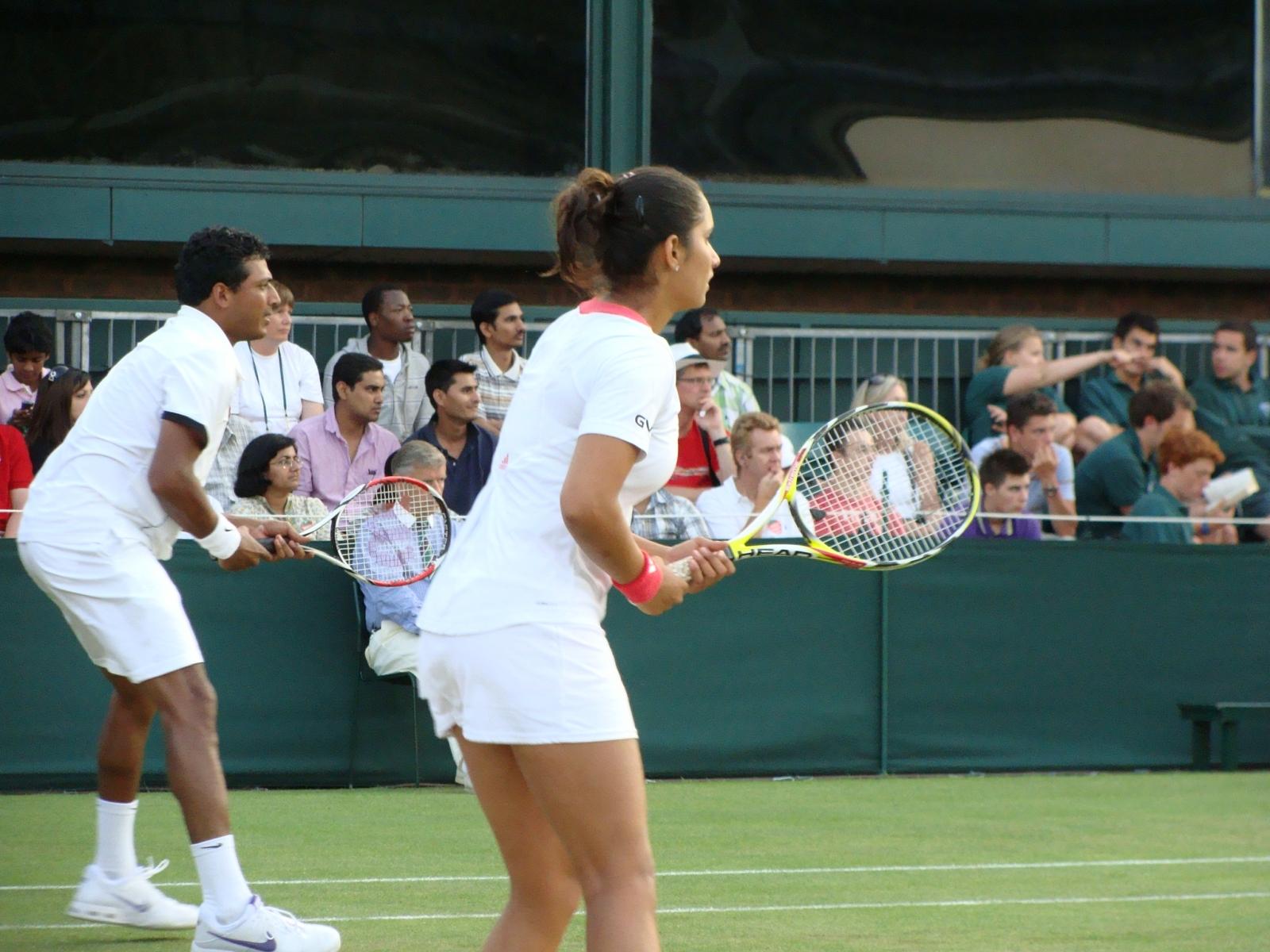 25_Bhupathi Mirza Wimbledon 2009