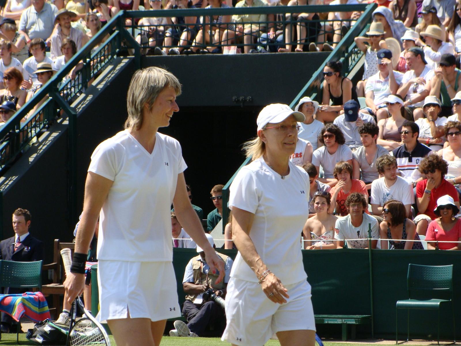 27_Navratilova Sukova Wimbledon 2009