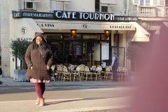 Agallivant at Cafe Tournon