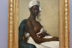 Seeing Portrait of a Negress at Lourve