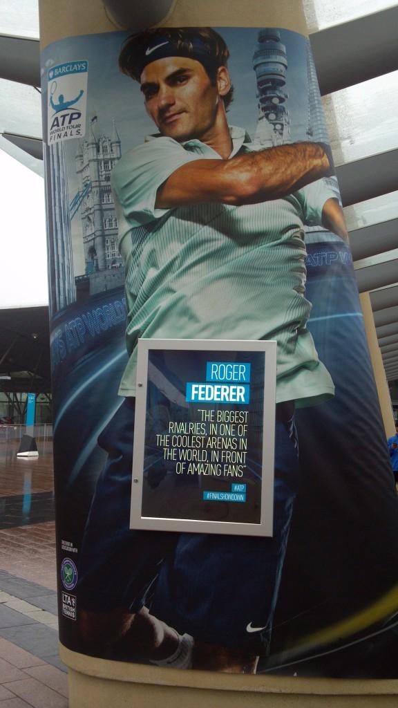 Federer @ WTF 2013