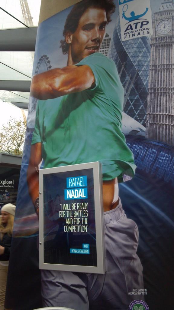 Nadal @ WTF 2013
