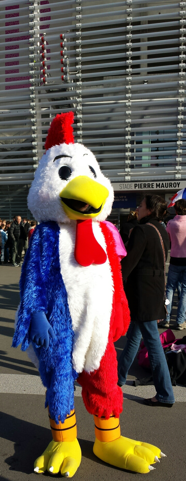 French DC Mascot
