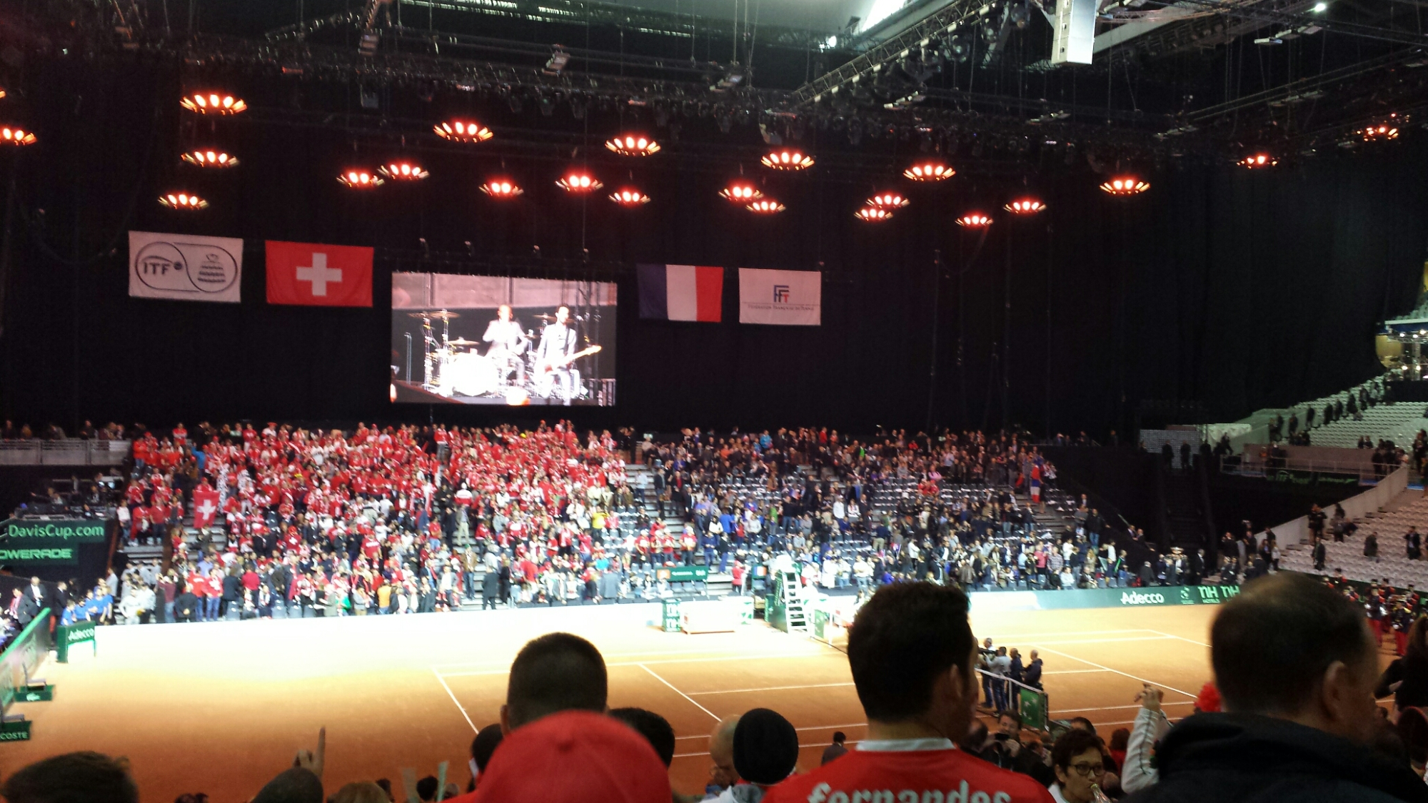 Davis Cup Seat View
