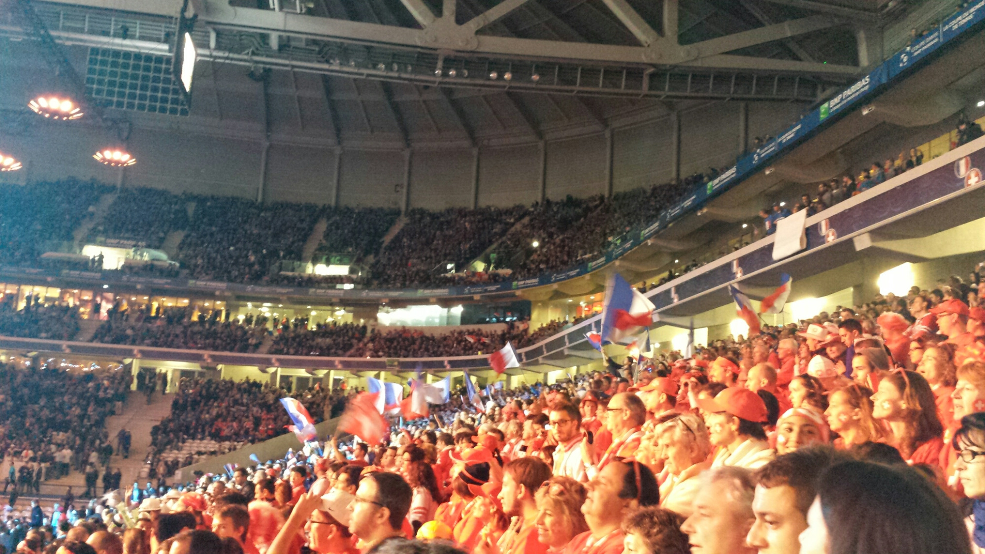 French Flags Aloft