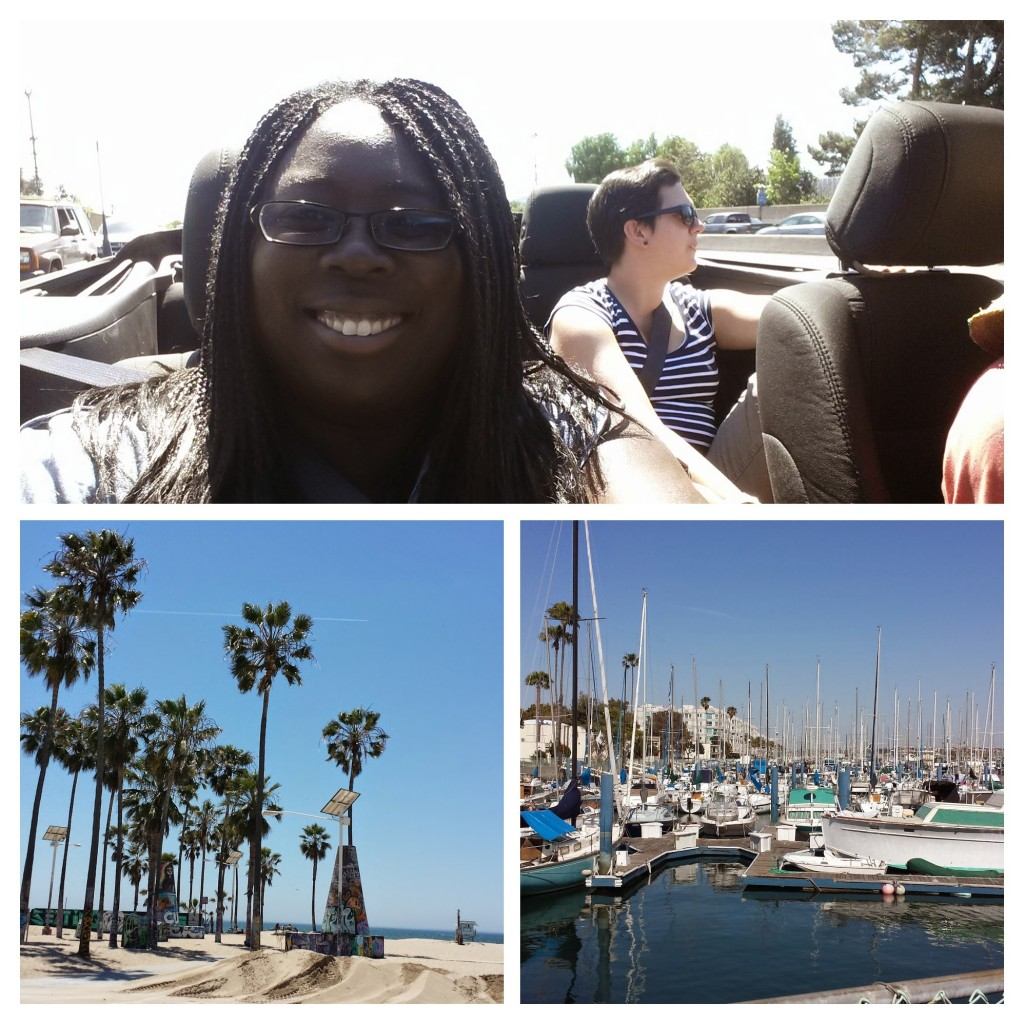 Sunshine, a convertible and palm trees were on order.